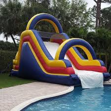 Free Shipping Inflatable Pool Slides For Swimming Water Games Sale