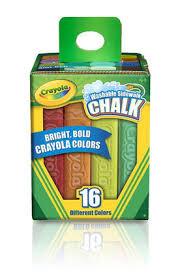 Crayola Bathtub Crayons 18 Vibrant Colors by Crayola Washable Outdoor Sidewalk Paint Tray Toys