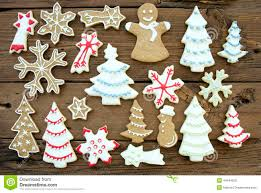 Kinds Of Christmas Trees by Different Kinds Of Cookies On Wood Stock Photo Image 44944259