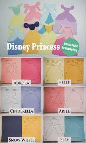 Disney Princess dress printable paper cutouts