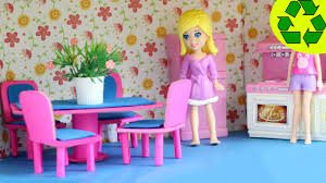 Barbie Living Room Furniture Diy by How To Make A Mini Doll Dinning Room Set With Cardboard And Paper