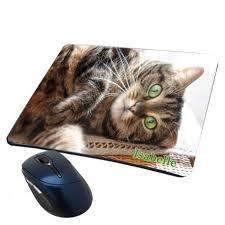 de souris chat personnalisé avec prénom
