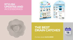 Zip It Bath And Sink Hair Snare by The Best Drain Catches Stylish Updates And Accessories Youtube
