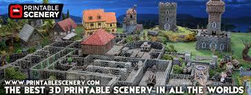 3d Dungeon Tiles Kickstarter by Rampage Openlock U2013 Printable Scenery