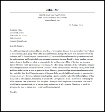 Busboy Cover Letter Must Haves