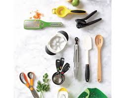 Kitchen Countertop With Utensils