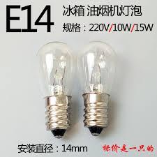 refrigerator light bulb 220v10w15w e14 fume
