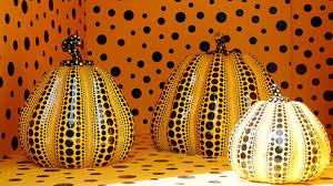 Yayoi Kusama Pumpkin by Bbc Arts Get Creative Carve A Fright Fully Good Pumpkin