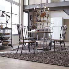 Barnside Metro Gray Dining Chairs Set Of 2