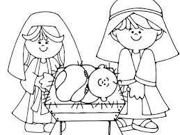 More From Baby Jesus Coloring Pages Printable View Detail XMAS COLORING PAGES