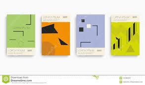 100 Bauhaus Style In Pattern Icon Set Stock