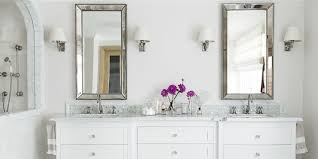Bathroom Fascinating Ideas For Decor Decorating On A Budget White Wall Mirrors