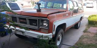 Elpfordfan 1974 GMC Suburban 1500Sport Utility Specs, Photos ... All Original 1974 Gmc 1500 By Roaklin On Deviantart 6500 20 Tandem Grain Truck Gas 52 Spd Jumps Out Of Medium Dutytrucks Usa Michael Flickr Vehicular 2040 Atl 1977 Sierra 2500 Camper Special Youtube Sierra Car Brochures Chevrolet And Truck Chevy Feature Classic Cars Custom Pickup W 350cid Parts Larry Lawrence Billet Front End Dress Up Kit With 7 Single Round Headlights 1973 Missing Factory Emissions Equipment The 1947 Present Indianapolis 500 Official Trucks Editions 741984 Ck For Sale Near Cadillac Michigan 49601 Classics