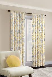 hometrends capris twill window panel walmart ca bedroom