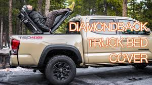 100 Truck Bed Tent Tacoma ULTIMATE Roof Top Camping CVT On DiamondBack Cover
