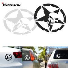 Vingtank Star Skull Car Sticker Decals Cool Window Wall Creative ... The 2nd Half Price Firefighter Skull Car Sticker 1915cm Car Styling 2 Metal Mulisha Girl Skulls Bow Vinyl Decals 22 X Window Truck Army Star Military Bed Stripe Pair Skumonkey 2019 X13cm Punisher Auto Sticker Pentagram Cg3279 Harleydavidson Classic Graphix Willie G Decal Pistons Hood Matte Black Ram F150 Pin By Aliwishus On Skulls Flags Pinterest Stickers And Decalset Hd Skull American Flag Backround Cg25055 Die Cutz High Quality White Deer Rack Wall Etsy Unique For Trucks Northstarpilatescom Buy Shade Tribal Graphics Van