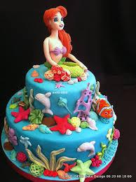 décorations gâteaux thème de la mer