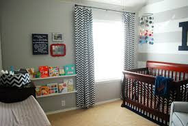 Grey And White Chevron Curtains by Nolan U0027s Grey White And Navy Baby Boy Nursery Project Nursery