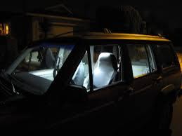 Write up interior LED strip lighting JeepForum