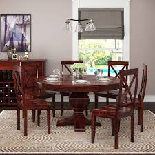 Missouri Solid Wood Round Pedestal Dining Table With 6 Chairs Set Liam Ding Set 1 Table 6 Chairs Extendable Teak By Hans Olsen For Price And Buy Seater Round Beige Marble With Wooden Cushioned Chairs With Six Round Table With Chairs Earl Kitchen For Aripeka Solid Mahogany Wood Ding Table Amazoncom Cover Cloth Home Modern Golden Top Luxury My Rectangle Birch White Mdf Nordic Design Setslate Tablehideaway