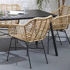 Isaac Faux Rattan In/Outdoor Dining Chair - Set Of 4 | Meadows & Byrne Shop Aleko Wicker Patio Rattan Outdoor Garden Fniture Set Of 3 Pcs 4pc Sofa Conservatory Sunnydaze Tramore 4piece Gray Best Rattan Garden Fniture And Where To Buy It The Telegraph Akando Outdoor Table Chair Hog Giantex Chat Seat Loveseat Table Chairs Costway 4 Pc Lawn Weston Modern Beige Upholstered Grey Lounge Chair Riverdale 2 Bistro With High Webetop Setoutdoor Milano 4pc Setting Coffee