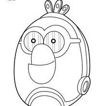 Chewbacca C 3PO Angry Birds Coloring Page