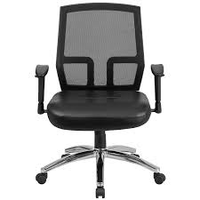 Hercules 500 Lb Office Chair by Flash Furniture Hercules Mid Back Mesh Executive Chair U0026 Reviews