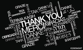 thank you appreciation thanking greetings thanks acknowledgment