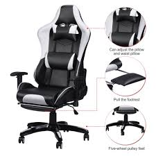US $181.7 |Racing Gaming Office Chair Computer Desk 360 Degree Chair  Adjustable Seat & Armrests Height Backrest Recline Retractable Leg-in  Office ... Maharlika Office Chair Home Leather Designed Recling Swivel High Back Deco Alessio Chairs Executive Low Recliner The 14 Best Of 2019 Gear Patrol Teknik Ambassador Faux Cozy Desk For Exciting Room Happybuy With Footrest Pu Ergonomic Adjustable Armchair Computer Napping Double Layer Padding Recline Grey Fabric Office Chairs About The Most Wellknown Modern Cheap Find Us 38135 36 Offspecial Offer Computer Chair Home Headrest Staff Skin Comfort Boss High Back Recling Fniture Rotationin Racing Gaming