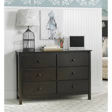 6 Drawer Dresser Walmart by South Shore Tao 6 Drawer Double Dresser Gray Oak Walmart Com