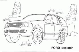 Outstanding Cars Printable Coloring Pages With Car And For Kindergarten