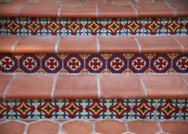 painted tile santa ca mission tile west