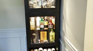 Tall Corner Bathroom Storage Cabinet by Bar Tall Corner Bar Cabinet Awe Inspiring Furniture Corner