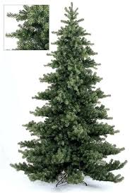 Modren Christmas Slim Unlit Tree Extraordinary 9 Sears Artificial 4 And Half Feet Trees At 7 Ft