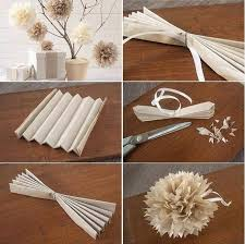How To Make Beautiful Paper Flower Ball Step By DIY Tutorial Instructions