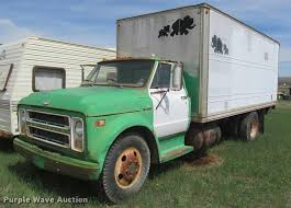 100 1970 Truck Chevrolet C50 Box Truck Item K3930 SOLD May 23 Sha