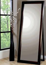 Home Decor Extra Large Full Length Style Standing Leaning Floor Mirror In Cappuccino Finish