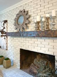 Living Room With Fireplace Design by 15 Gorgeous Painted Brick Fireplaces Hgtv U0027s Decorating U0026 Design