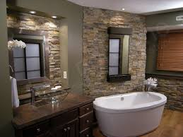 Rustic Bathtub Tile Surround by Rustic Bathroom With Natural Stone Wall And Wooden Ceiling