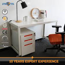 bureau top office customized mdf top office desk design steel modern desk