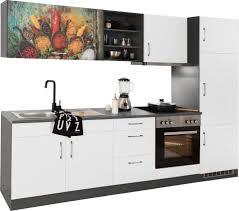 held möbel küchenzeile mit e geräten breite 270 cm kaufen otto