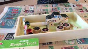 100 Melissa And Doug Trucks And Decorate It Yourself Wooden Monster Truck YouTube