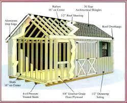 gambrel storage building
