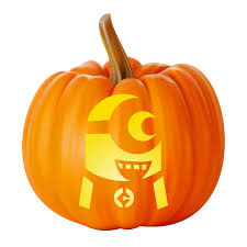 Minion Pumpkin Carvings Patterns by Carveking Free Pumpkin Carving Stencils