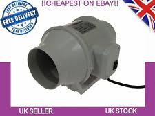 Duct Free Bathroom Fan Uk by Hydroponics Extractor Fan Ebay