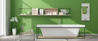 trendfarben und designermöbel im badezimmer moderne