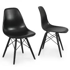 Emodern Decor Shell Side Chair by Eiffel Bentley Home Designer Inspired Eiffel Chairs Eames