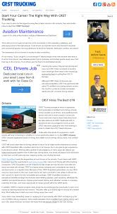 100 Crst Trucking School Locations Competitors Revenue And Employees Owler Company Profile