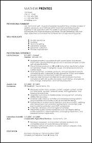 Professional Lab Technician Resume