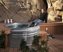 Horse Trough Bathtub Ideas by 15 Galvanized Horse Trough Bathtub Real Men Build Their Own